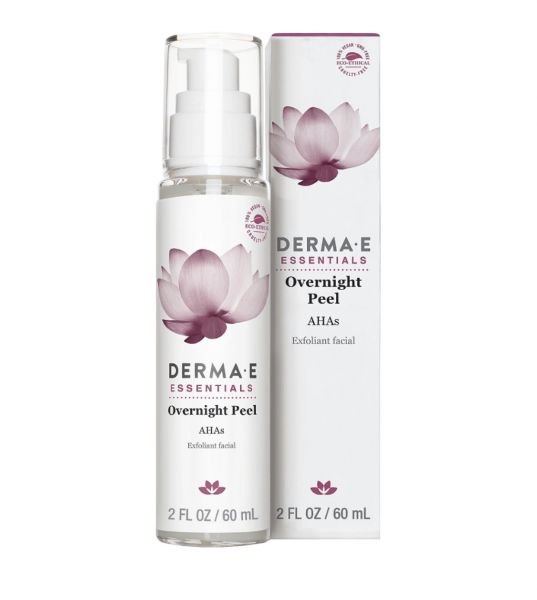 - Overnight Peel with Alpha Hydroxy Acids Derma e