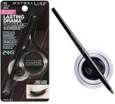 Eye Studio gel eyeliner delineador Maybelline