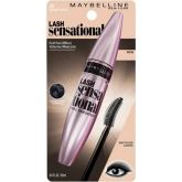 Maybelline New York Lash Sensational Mascara, Blackest Black Rimel